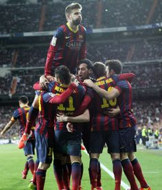 2014-03-23 Real Madrid - FC Barcelona (3-4) Lionel Messi, Fc Barcelona, Real Madrid, Sumo, Soccer, Wrestling, Football, Sports, Lucha Libre