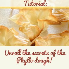 Working with phyllo dough can sometimes be tricky if handled the wrong way. Read through our secret tips that will make you succeed every time! Phyllo Dough Recipes, Puff Pastry Recipes, Strudel Recipes, Greek Desserts, Greek Recipes, Healthy Desserts, Yummy Recipes, Philo Dough, Frugal