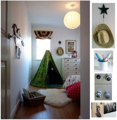 jack's new western room totally needs a teepee like this!