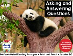 Asking and Answering Questions - This unit will save you a ton of planning time and allow your students to have an engaging learning experience. All you have to do is print and teach. No need to hunt for reading material that aligns with standards. Included:Differentiated Passage (1 text with 3 levels)Lesson SuggestionsStudent AnchorsGraphic OrganizersQuestioning CardsConnect with Amy LabrascianoBe sure to follow my TpT store by clicking on the red Follow Me next to my Seller picture to…