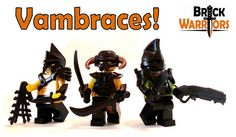 We've just restocked some popular black accessories!  We once again have the following items in black:   •	Muscled Cuirass  •	Invader Helmet  •	Vambraces    #lego #minifigure #brickwarriors #vambraces #armor #helmets #weapons