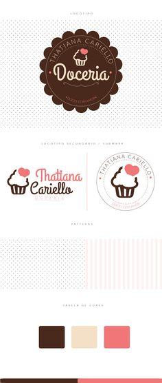 Logotipo Doceria Thatiana Cariello