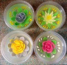 Imut imut jelly art