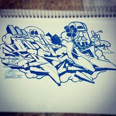 #graffiti #123klan
