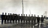 Barriefield Camp Soldiers, 1915