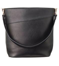 Black Leather Tote Bag, Bucket Bag, Laptop, Sport, Bags, Fashion, Hipster Stuff, Damask, Handbags