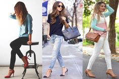 boyfriend jeans: That's how it works (and you do not look like a ton!) - https:// Combining boyfriend jeans: That's how it works (and you do not look like a ton!) - -Combining boyfriend jeans: That's how it works (and you do not look like a ton! Outfits Damen, Komplette Outfits, Spring Outfits, Casual Outfits, Fashion Outfits, Womens Fashion, Spring Clothes, Dress Casual, Casual Shirts