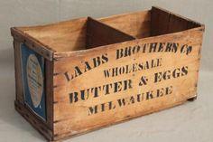 antique farm crate - Google Search