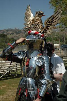 Frog Helmet armor tournament knight