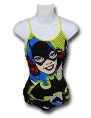 Batgirl Face Women's Cami & Panty Set