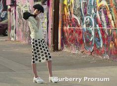Spécial mode arty L.A. : le look Burberry Prorsum