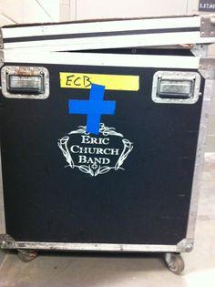 Eric Church road case