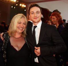 James McAvoy and his s...