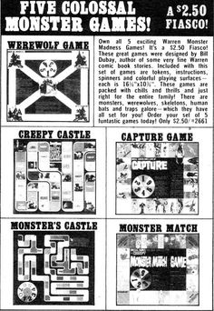 Mail Order Monday: Monster games!