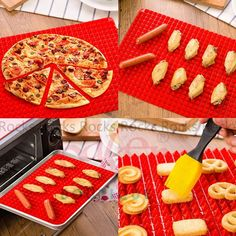 Silicone Kitchen Baking Mat For Healthy Cooking Non Stick Bake Mat Microwave Silicone Baking Mat, International Trade, Baking Sheet, Cake Mold, Bbq Grill, Bakeware, Food Grade, Healthy Cooking, Oven