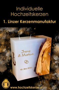 Form, Pillar Candles, Giveaways, Newlyweds, Dekoration, Personalized Candles, Wedding Church, Candles
