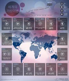 """[인포그래픽] 2013 세계 기상이변…필리핀 '하이옌', 호주 '혹서현상' 등 #weather / #Infographic"""" ⓒ 비주얼다이브 무단 복사·전재·재배포 금지"""