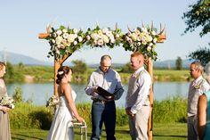 Photography: Shannon Hollman - www.shannonhollman.com  Read More: http://www.stylemepretty.com/northwest-weddings/2014/03/07/vintage-montana-barn-wedding/