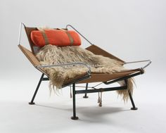 Wegner, Flag Halyard Chair. Early model.