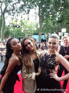 Leigh-Anne, Jade, and Perrie Edwards - This is Us premiere