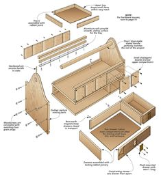 Finding Woodworking Patterns for All Your DIY Projects – The Woodworking Shop Woodworking Tools For Sale, Woodworking Patterns, Woodworking Workbench, Woodworking Projects Plans, Woodworking Classes, Workbench Plans, Woodworking Magazine, Woodworking Machinery, Woodworking Videos