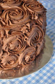 Chocolate layer birthday cake