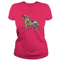 Carousel Horse Of Many Colors T-Shirts, Hoodies. VIEW DETAIL ==► Funny Tee Shirts