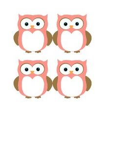 Use these cute little owls for a bulletin board, name tags, or other labeling purposes! Girl Scout Swap, Girl Scouts, Free Printable Tags, Free Printables, Owl Name Tags, Crafts For Kids, Diy Crafts, Cute Owl, Outdoor Art