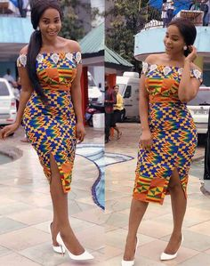 Benedicta gafah african print dress African print dresses for graduation can come in all designs. The kente styles, ankara styles, African print jumpsuits, even a well designed kaba and slit. African Wear Dresses, African Fashion Ankara, Latest African Fashion Dresses, African Print Fashion, African Attire, Ghana Dresses, Ankara Short Gown Styles, Kente Styles, Ankara Gowns