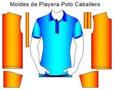 Moldes de Playera Polo de Hombre | Moldes de Ropa y Sistemas de Diseño y Patronaje