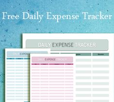 Free printable Financial Management Planners/Trackers | Balance ...
