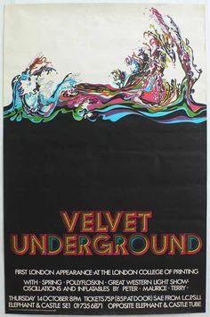 cartaz de show velvet underground