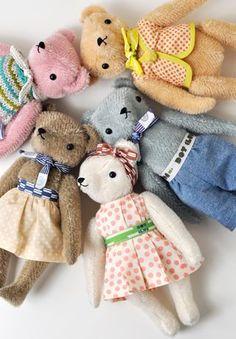 POLKA DOT CLUB :: The most adorable handmade teddy bears