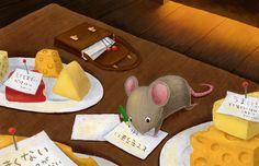 チーズの批評家、アナトール