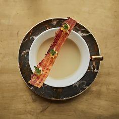 "This ""Potato, storm clam, Bacon, lemon from the lodge bar"" by Matt LAMBERT . Fine Wine, Culinary Arts, Clams, Food Menu, Wines, Lemony Lemon, Bacon, Food Porn, Potatoes"