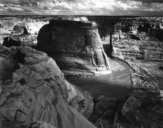 Canyon de Chelly, 1941.  By Ansel Adams