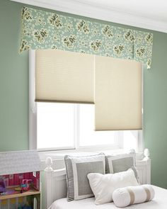 With its traditional styling and range of fabrics to choose from, this classic valance gives windows a fully finished look. Dawson Fabric Valance in Amelia/ Spa.
