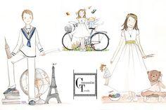 www.comuniontrendy.com Sole Alonso, Ilustraciones Comunión, Recordatorios #Comunión