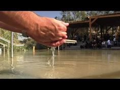 Baptism Site of Jesus in the Jordan River - Qsr Al Yahud O Holy Night, The Covenant, Pro Bono, Jordans, Holy Holy, Ten Commandments, Holy Land, River, This Or That Questions