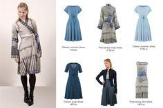 Inspirasjon: Kjoler i blåtoner