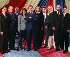 The greatest. The West Wing. Oh I cried for you. I'd still happily watch any episode again and again.