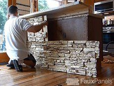 Installing Faux Paneling, Siding, Columns | How To Guides