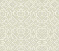 Italian Lace in Seafoam Gray fabric by katphillipsdesigns on Spoonflower - custom fabric
