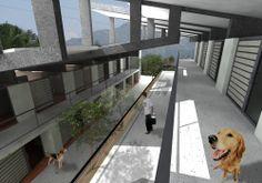 """Centro de Bienestar Animal """" La perla"""" 2009-2014 www.tresarquitectos.com"""