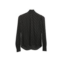 The Gordonderry Daisy Print Blouse (375 NZD) ❤ liked on Polyvore featuring tops, blouses, long sleeve blouse, daisy print top, silk long sleeve top, silk top and mini top