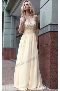 7a6a0ac9e7d Shop Fabulous A-Line V-Neckline Floor-Length Beadings Empire Evening Dresses  on sale at Tidestore with trendy design and good price.