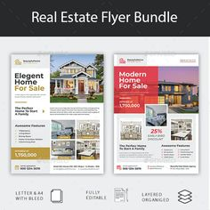 Flyer Design, Layout Design, Resume Styles, Presentation Magazine, Annual Report Covers, Real Estate Flyer Template, Real Estate Flyers, Brochure Layout, Marketing