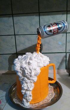 Söröskorsó torta, beer cake