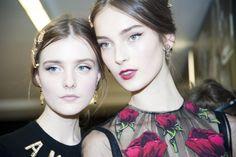 Le défilé Dolce & Gabbana automne-hiver 2015-20146, côté backstage
