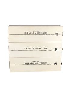 Anniversary Wine Gift Box
